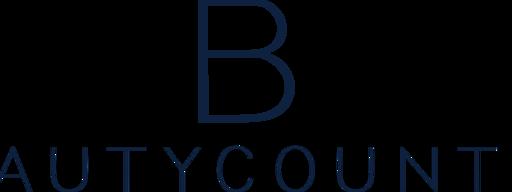 Tiny beautycounter b logotype navy